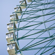 Ferris wheel on blue sky — Stock Photo #6954163