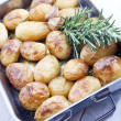 Royalty-Free Stock Photo: Baked Potatoes with rosemary