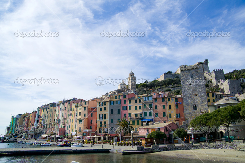 Portovenere Liguria La Spezia Italy — Stock Photo #6987405