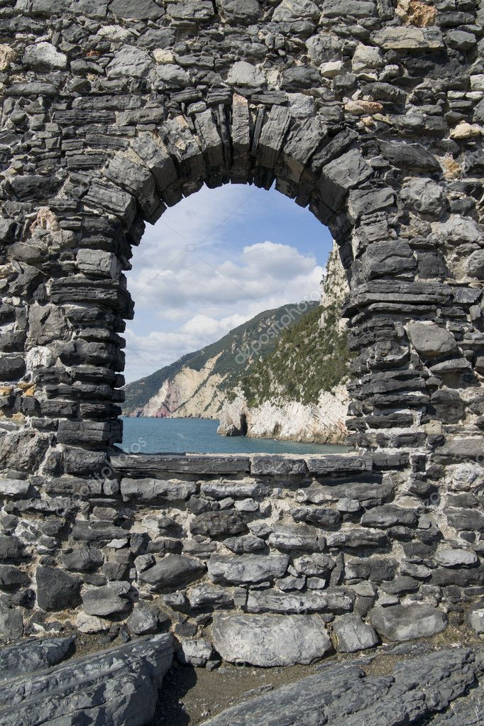 Portovenere Liguria La Spezia Italy — Stock Photo #6987522