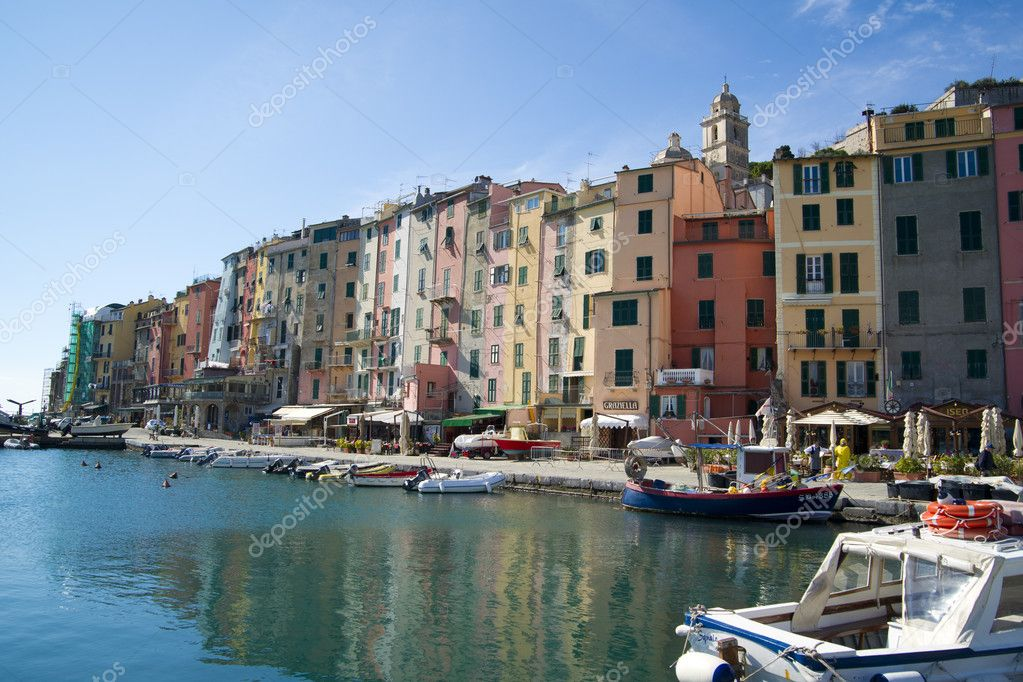 Portovenere Liguria La Spezia Italy — Photo #6987554
