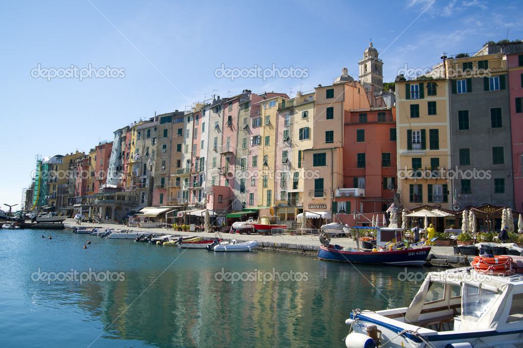 Portovenere Liguria La Spezia Italy  Foto de Stock   #6987554