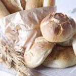Warm bread — Stock Photo