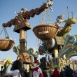 Stock Photo: Carnival of Viareggio Italy