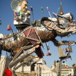 Carnival of Viareggio Italy — Stock Photo