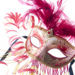Stock Photo: Venice mask with confetti