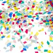 Christmas confetti — Stock Photo