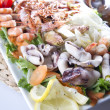 Seafood plate — Stock Photo #7027435