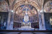 Katholische kirche, baptisterium — Stockfoto