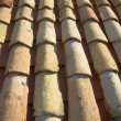 Roof brick — Stock Photo