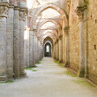 Abbey of san galgano tuscany italy - Foto Stock