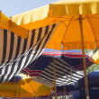 Beach umbrellas — Stock Photo #7398975
