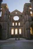 Abbey of san galgano tuscany italy — Stock Photo