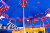 Beach umbrellas — Foto de Stock