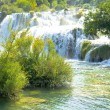 Waterfalls of Krka in Croatia — Stock Photo #7405622