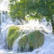 Waterfalls of Krka in Croatia - Stock Photo