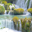 Waterfalls of Krka in Croatia — Stock Photo #7406016