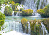 Waterfalls of Krka in Croatia — Stock Photo