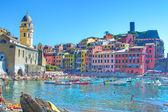 Vernazza typical Ligurian village — Stock Photo