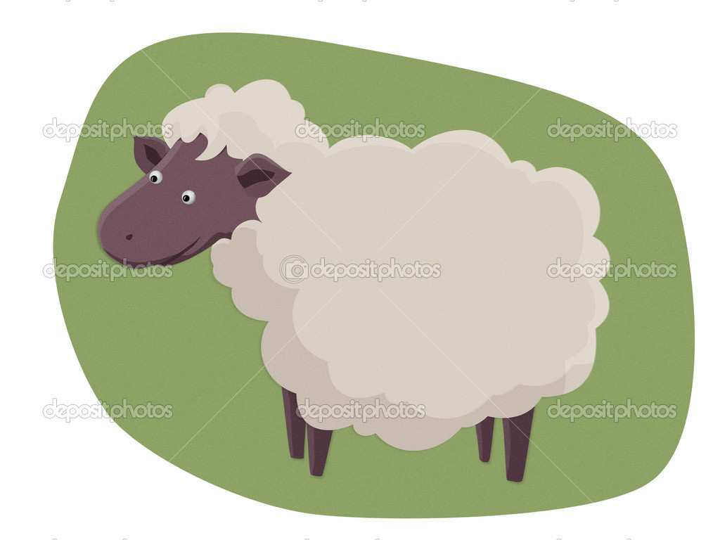 Lamb little  Stock Photo #6859185
