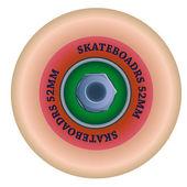 Wheel skate — Stock Vector