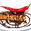 Stock Photo: Cake with chilli