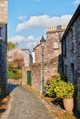 Narrow Paved Street Kendal, Cumbria — Stock Photo