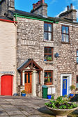 Traditional terraced cottages, Kendal — Stock Photo