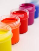 カラフルな塗料 — ストック写真