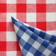 Stock Photo: Red white blue chequered