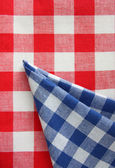 Red white blue chequered — Stock Photo