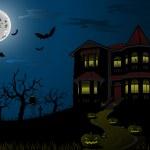Halloween Haunted House — Stock Vector #6932811