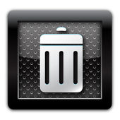 Ta bort metall ikon — Stockfoto