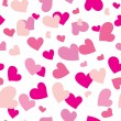 Royalty-Free Stock Vector Image: Seamless hearts background