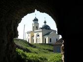 Old Orthodox Church.Khotyn — 图库照片