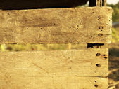 Wooden fence. background — Stock Photo