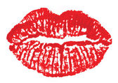 唇のマーク — ストックベクタ
