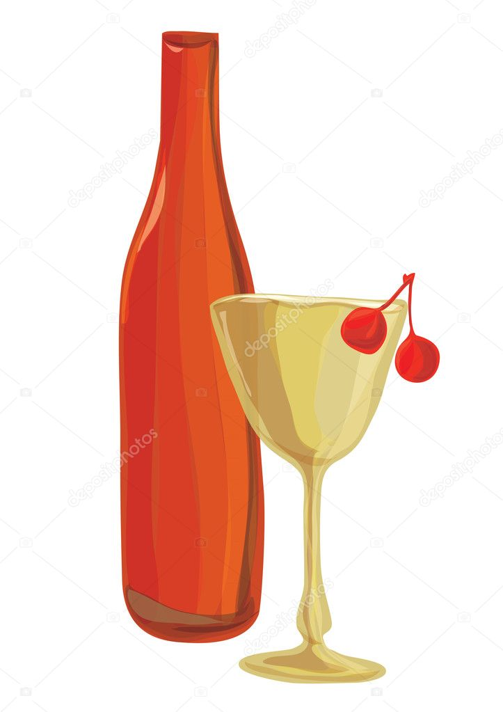 Vector illustration a still-life — Stock Vector #7610959