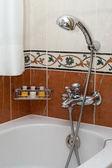 Otel tuvaletinde parçası — Stok fotoğraf