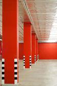 Emty underground parking — Stock Photo