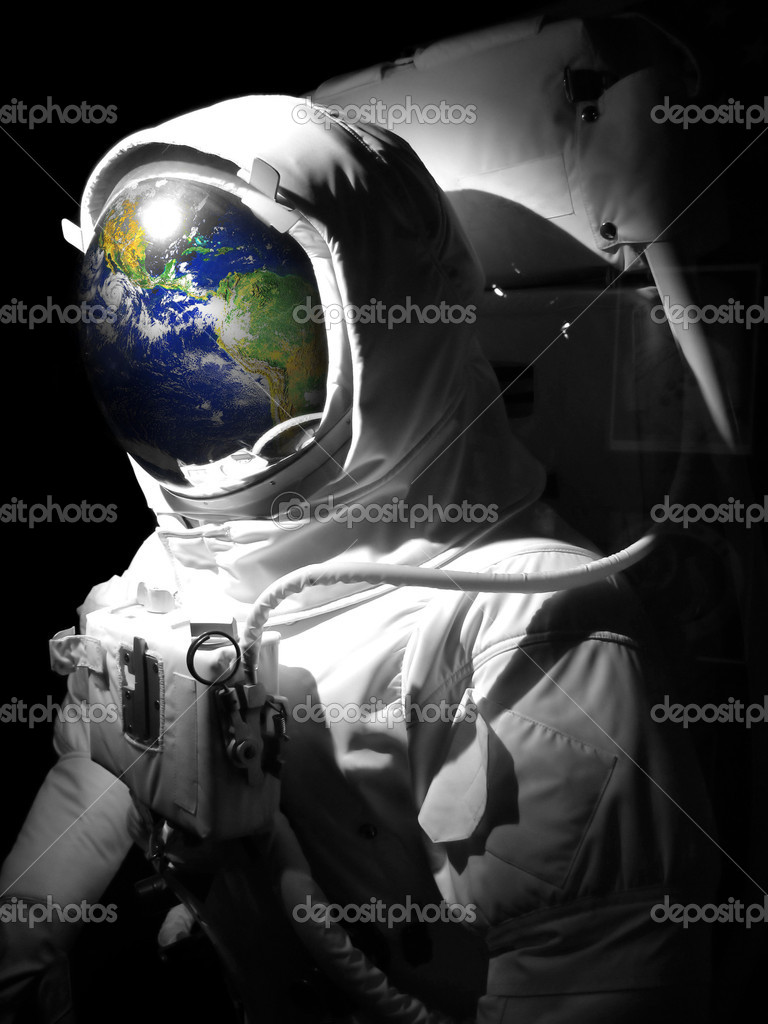astronaut space suit with
