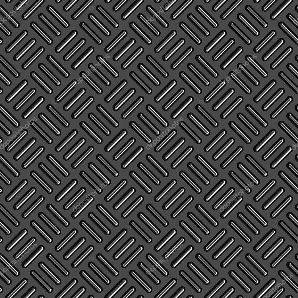 Diamond plate metal texture - a very nice background for an industrial or construction type look. Fully tileable - this tiles seamlessly as a pattern. — Stock Photo #6804025