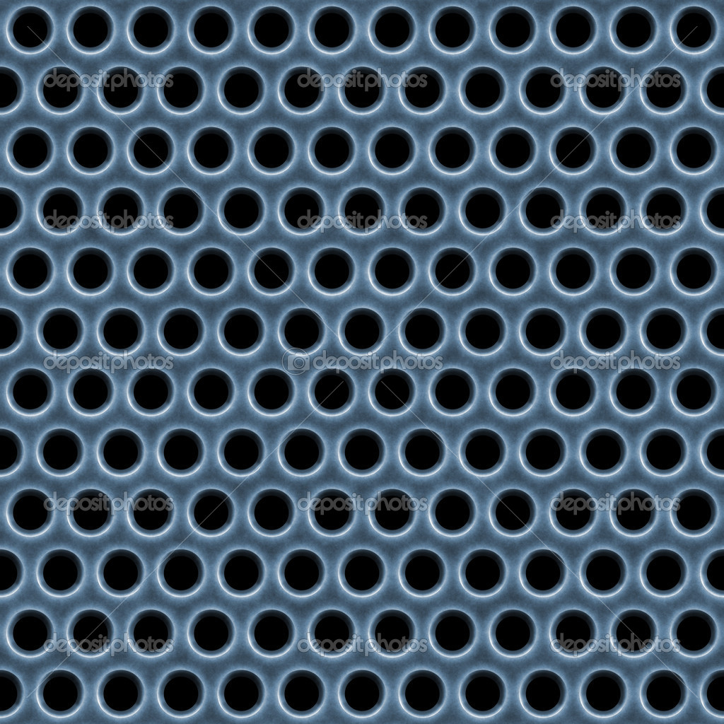 A 3d illustration of a steel grate material. This image tiles seamlessly as a pattern. — Stock Photo #6804076
