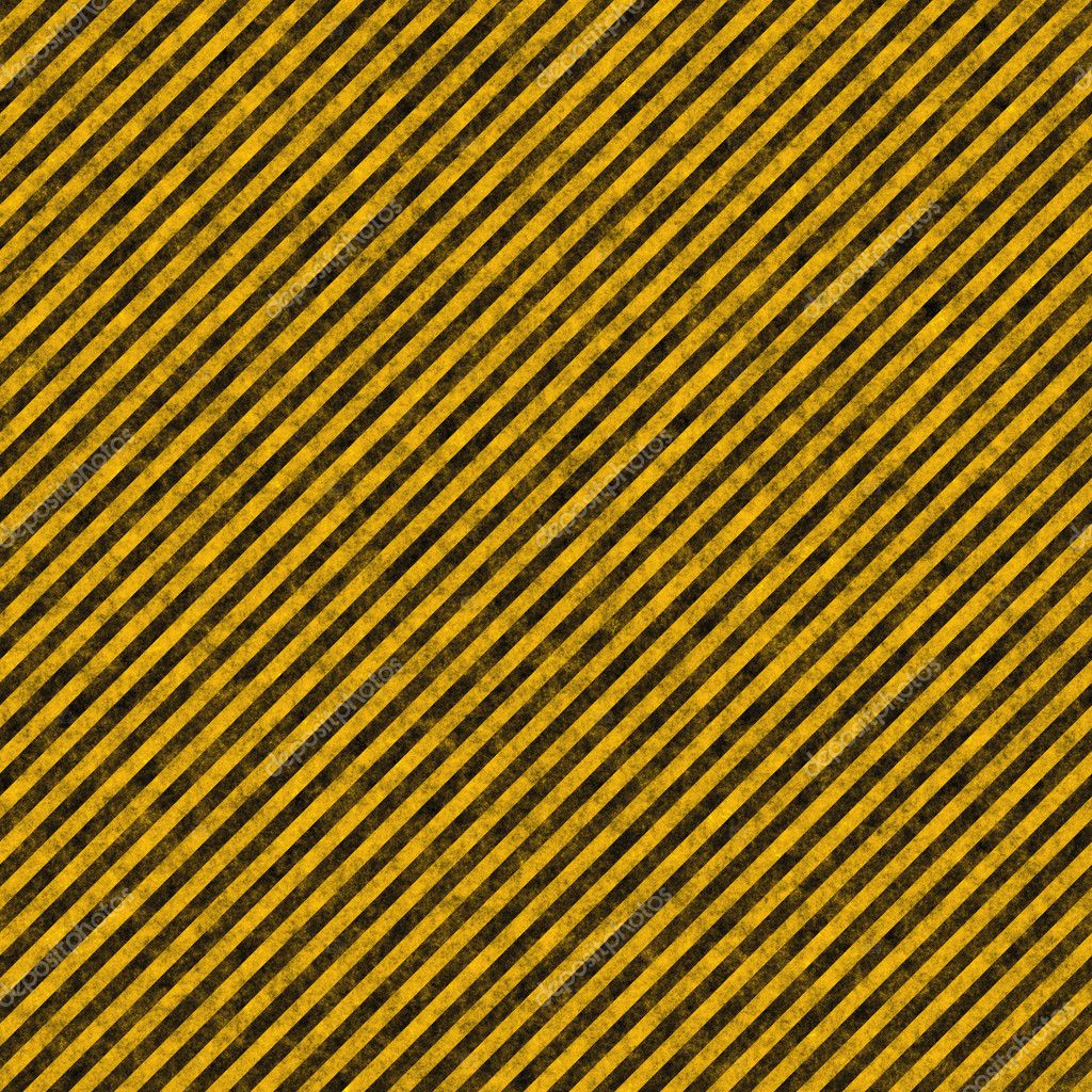 Diagonal hazard stripes texture. These are weathered, worn and grunge-looking — Stock Photo #6804104