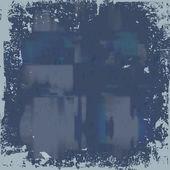 синий гранж — Стоковое фото