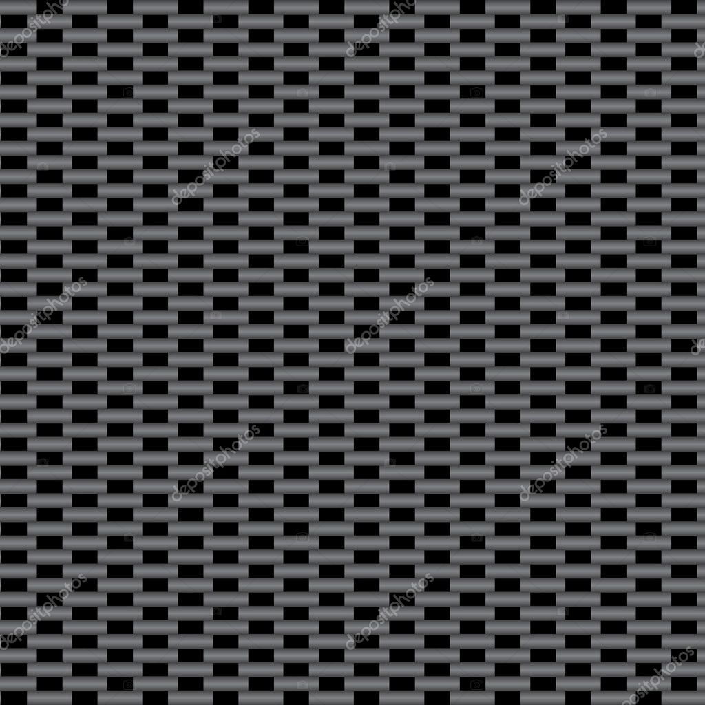 A vectorized version of the highly popular carbon fiber material.  This version tiles seamlessly as a pattern in any direction.  Stock Vector #7370575