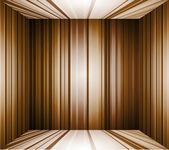 Empty brown interior background — Vector de stock