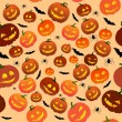 Halloween seamles — Vector de stock