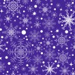 Stock Vector: Snowflake pattern