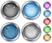 Spermatozoon. internet buttons. — Stock Vector